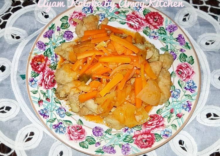 Resep Ayam Koloke Anti Gagal