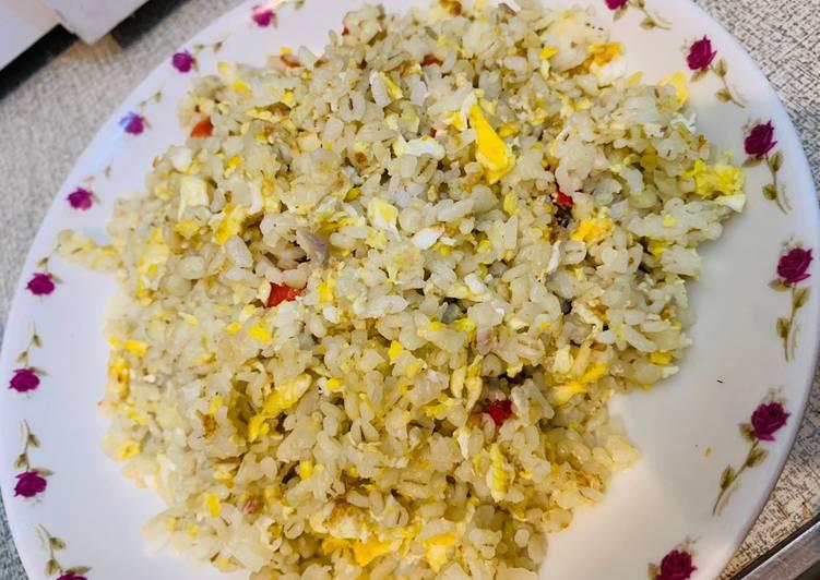 Resep Nasi goreng telur pedas Anti Gagal