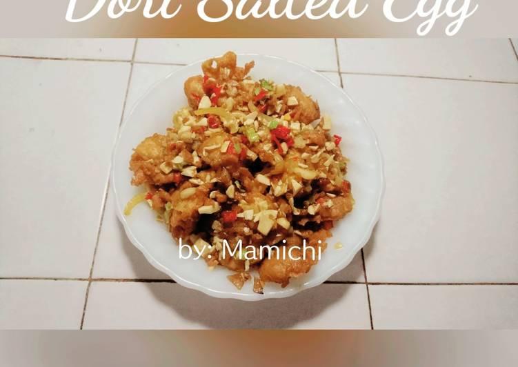Resep 10 Dori Saus Telur Asin Dori Salted Egg Enak Dan Antiribet Resep Cara