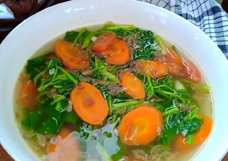 Resep Sup Bayam Terbaik