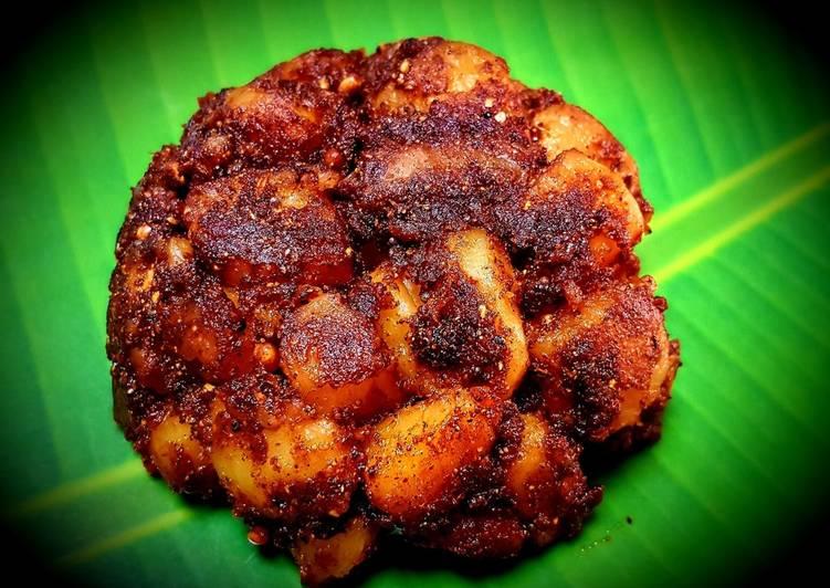 Recipe of Award-winning Chettinad Potato Fry