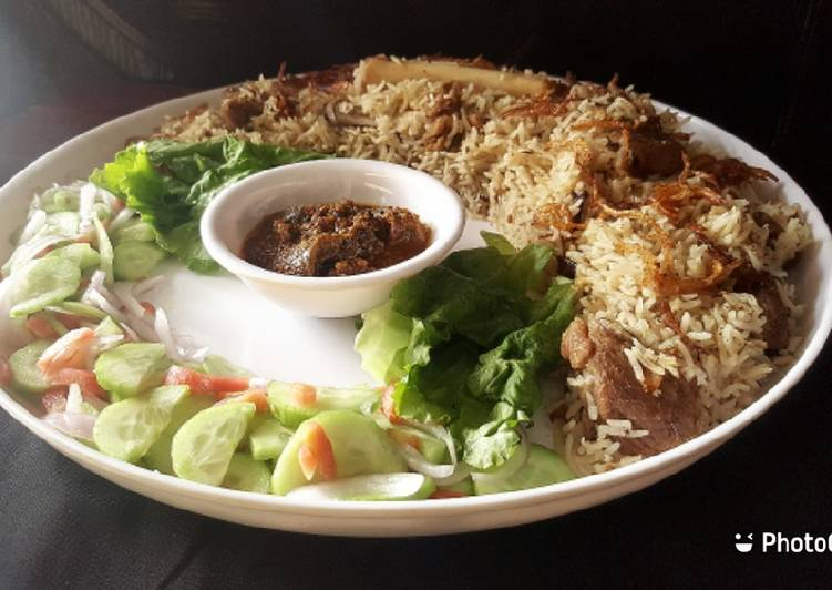 How to Make Favorite Mutton yakhni pulao