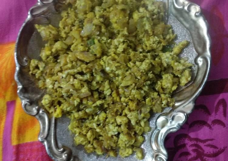 Recipe of Speedy Egg bhurji