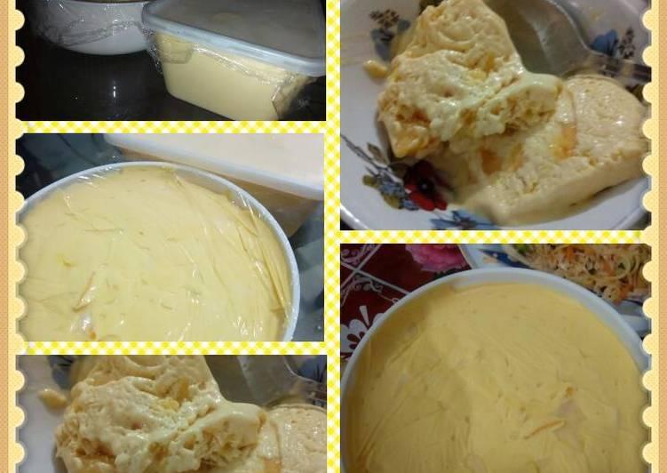 Recipe of Super Quick Homemade Mango ice cream
