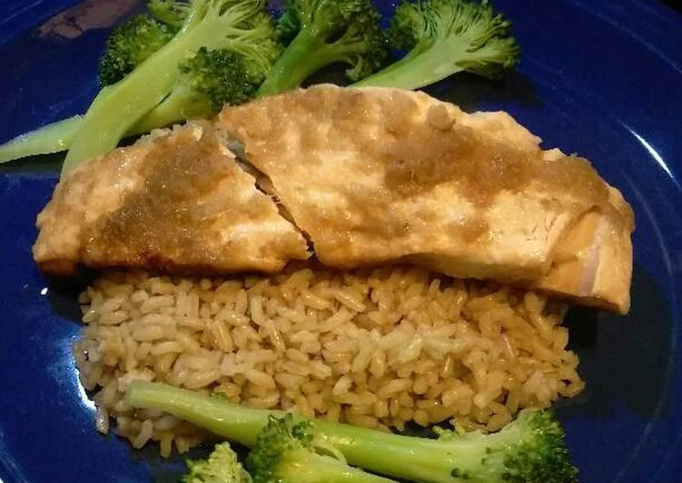 Recipe: Appetizing Ginger soy salmon