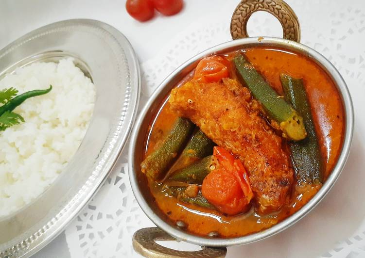 Step-by-Step Guide to Make Super Quick Homemade Fish Curry with Vindi