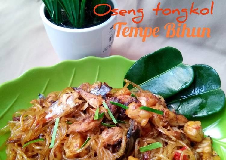 Oseng Tongkol Tempe Bihun