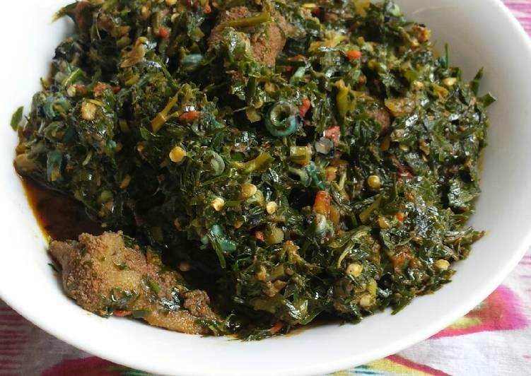Afang soup Recipe by Enefola Joy Owoicho - Cookpad India