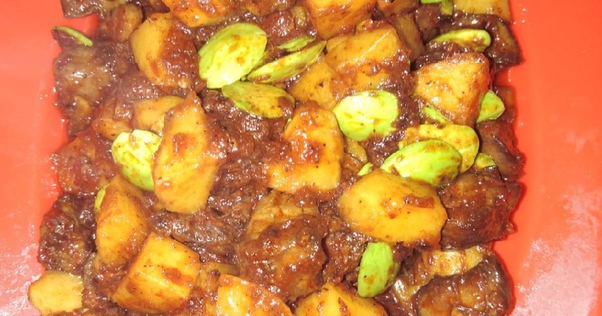 Resep Sambal Goreng Kentang Hati Ayam Petai Harigizinasional2019 Oleh Ukhty Kalbar Cookpad