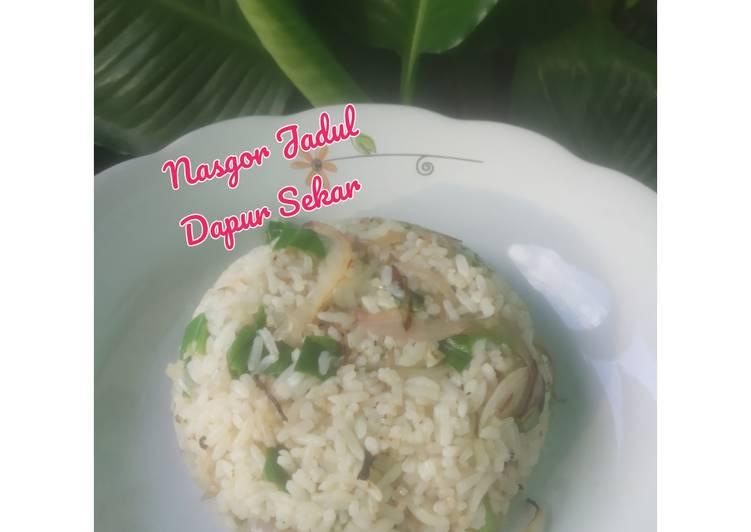 Nasgor Jadul (nasi goreng my mom)