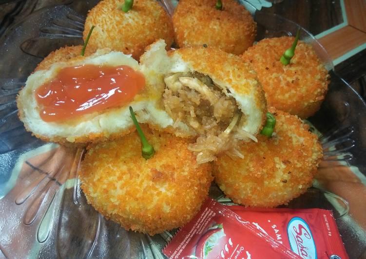 Resep Donat Ayam oleh Yaya Chaniago - Cookpad
