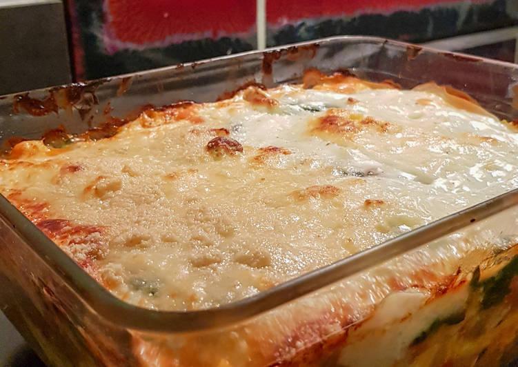 Lasagnes végetariennes sans gluten sans lactose