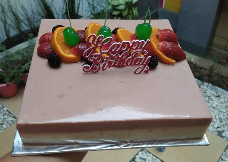 Pudding birthday