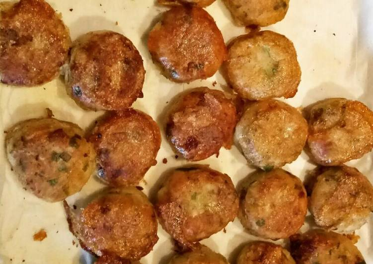Easy Healthy Recipe: Tasty Potato Balls *Vegetarian