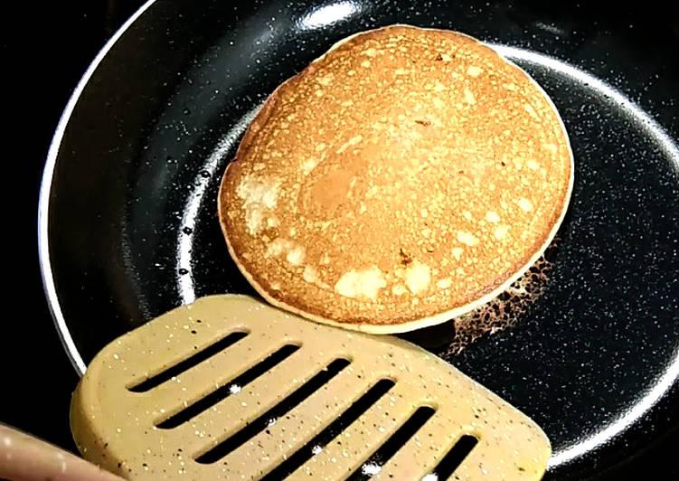 1. Pancake Fluffy Mudah dan Cepat