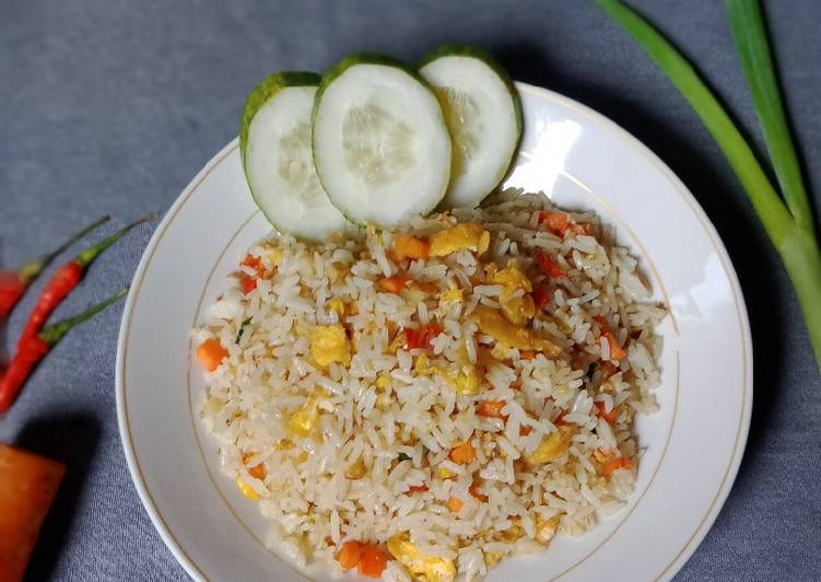 Cara Gampang Membuat Nasi Goreng Wortel  Anti Gagal