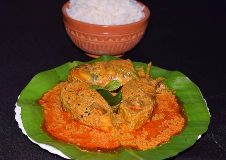 Spicy Mustard Hilsha Fish Curry, Help Your Heart with Food