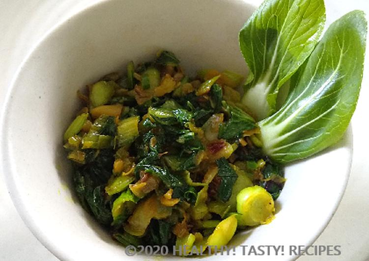 Recipe of Speedy Pak Choi Sabji