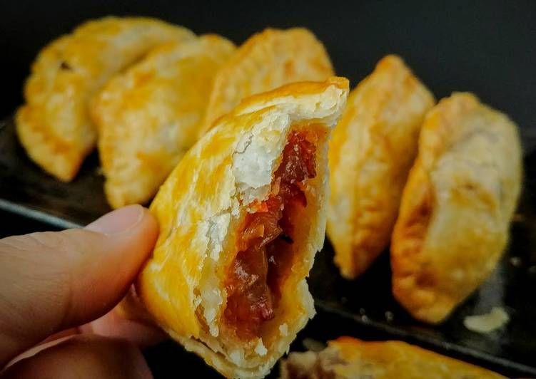 Recipe of Homemade Chinese BBQ Pork Pastry