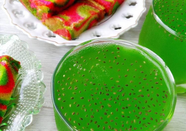 Homemade Pati Air Fanta Hijau - resepipouler.com
