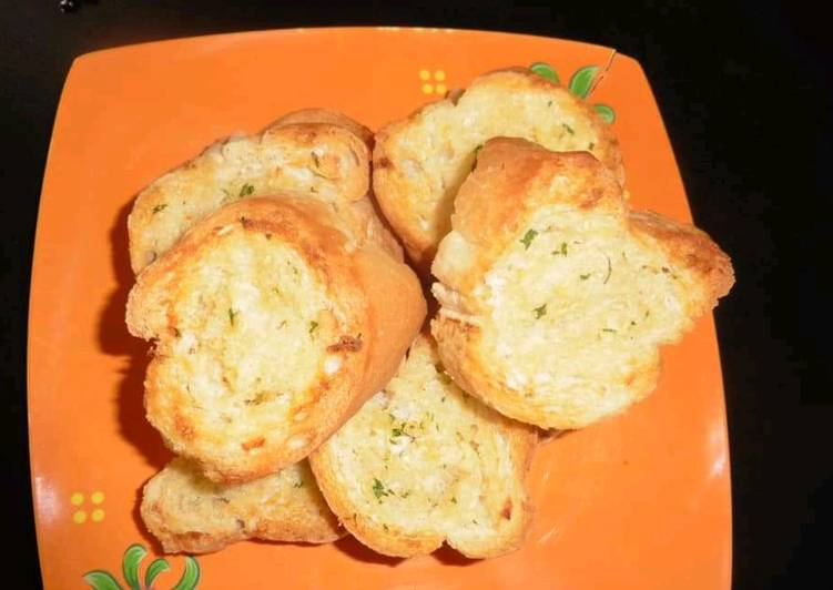 Resep Garlic bread Favorit