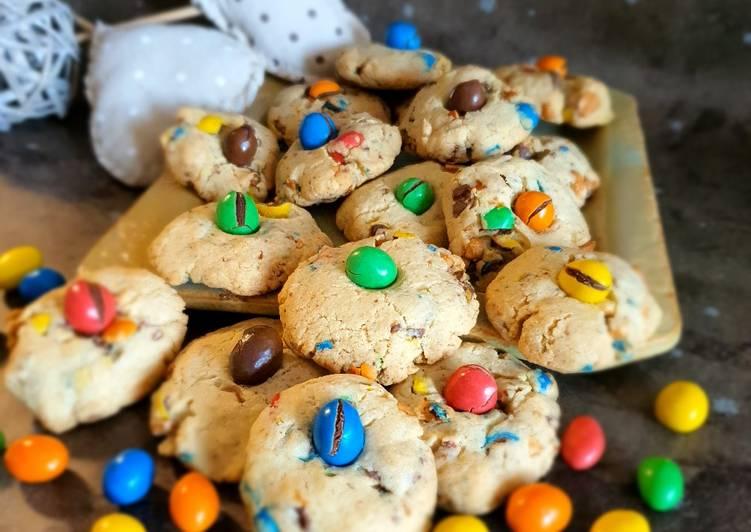 Comment faire Cuire Appétissante Cookies M&m's