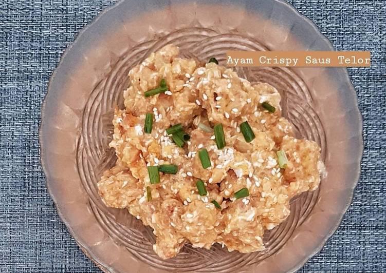 Ayam Crispy Saus Telor