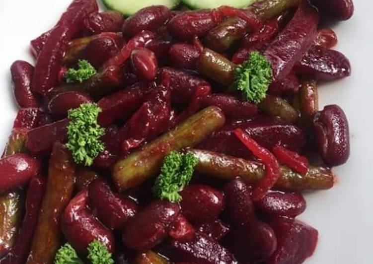 Simple Way to Make Award-winning Red Kindney Bean Beetroot Salad