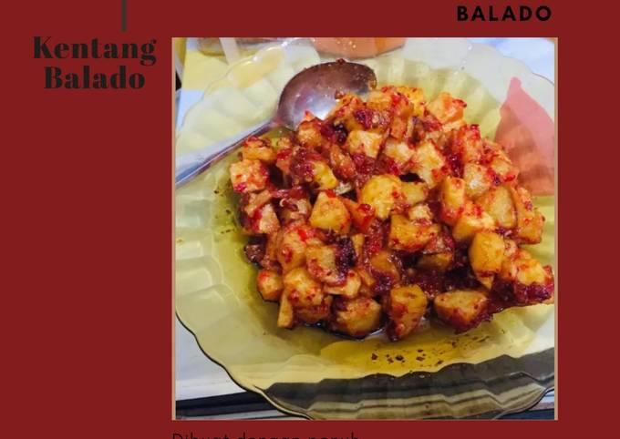 Yuk bikin kentang Balado! Gampang bgt😊