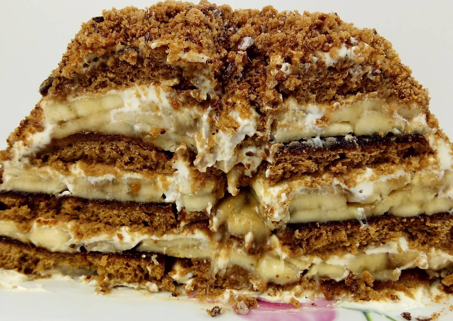 рецепт пирога из пряников с фото подкаминская одна