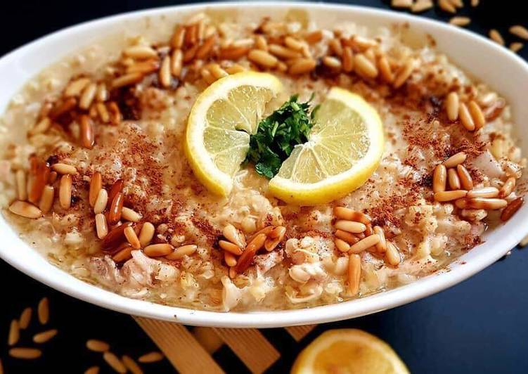 Simple Way to Make Quick Pearl_wheat_with_chicken