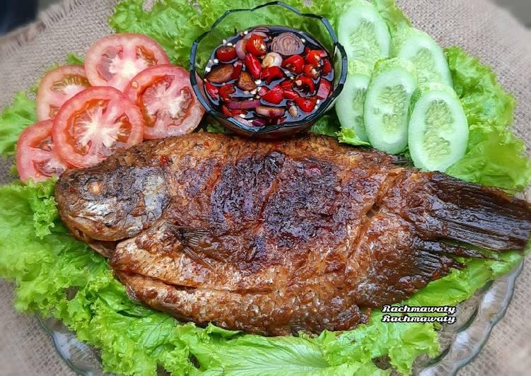 120.Ikan Gurame Bakar Bumbu Jimbaran