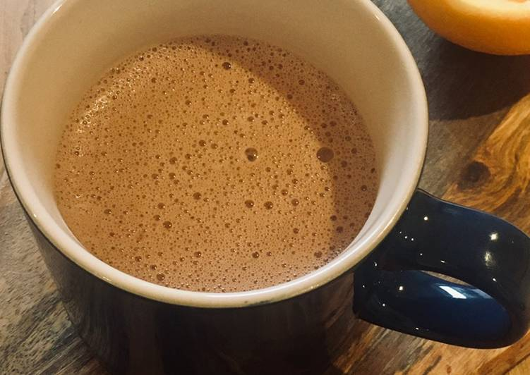 Step-by-Step Guide to Prepare Super Quick Homemade Hot Chocolate Orange 🍊