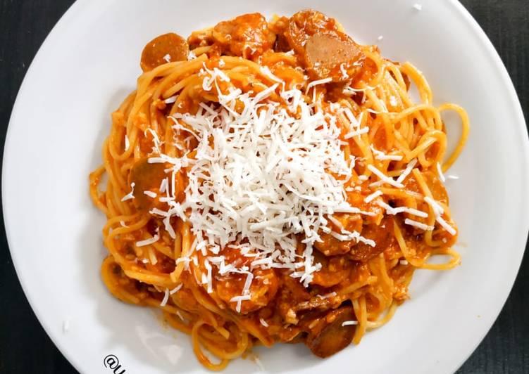 35. Spaghetti Cheesy Bolognaise