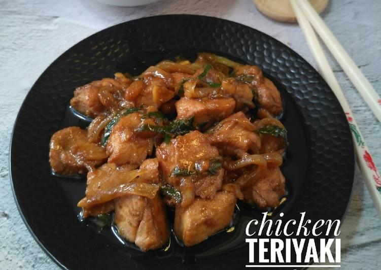 10 Resep: Chicken teriyaki ala Hokben Kekinian