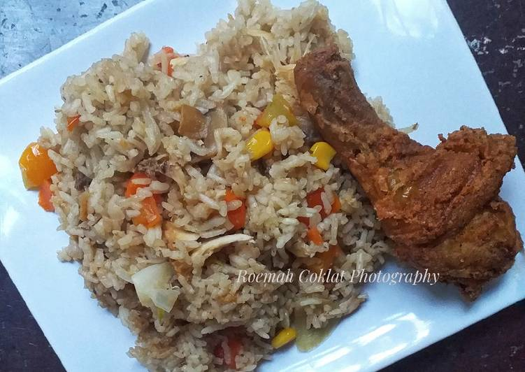 Nasi KFC Rice Cooker/Magic Com (Versi Komplit)