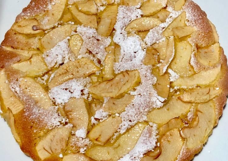 Recette Appétissante Tarte Suisse aux pommes