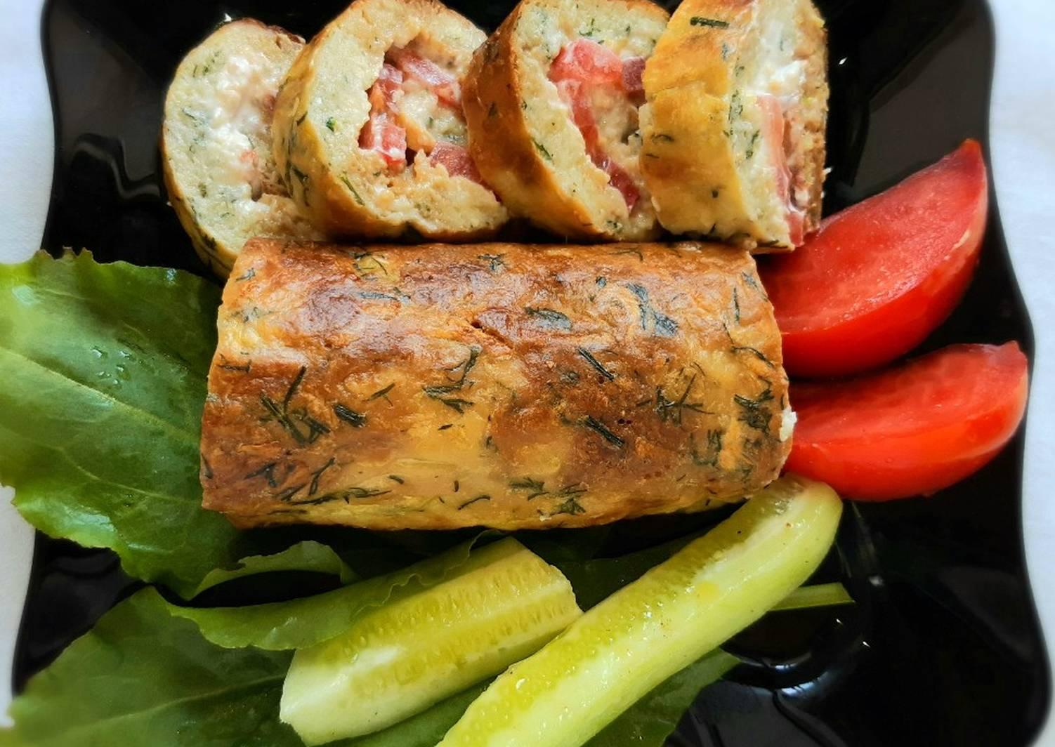круглый рулетики из овощей рецепты с фото вас могут