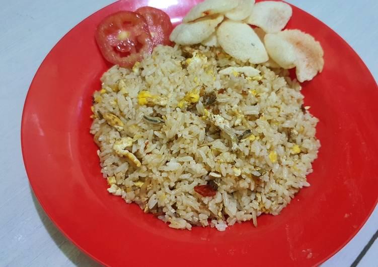 Resep Nasi Goreng Teri Medan || Simpel dan Enak Favorit