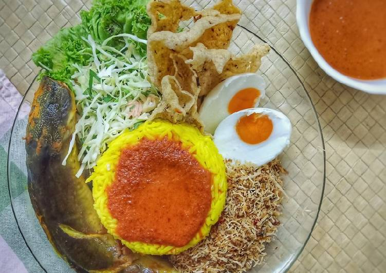 Nasi Kerabu Tumis - velavinkabakery.com