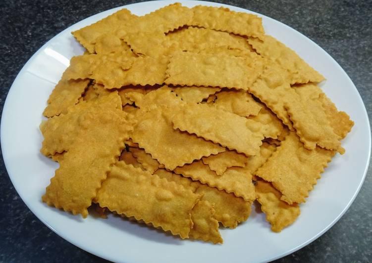 Crackers à la farine de pois chiches (vegan)