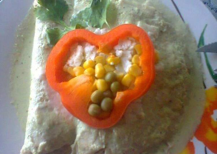 Enchiladas Celestiales 👼🧡