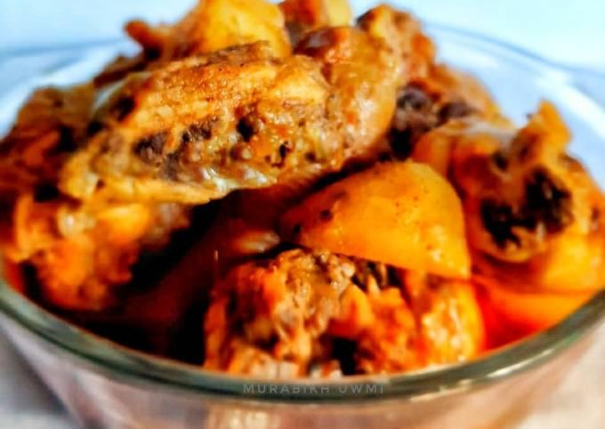 Langkah Mudah untuk Menyiapkan Indian Chicken Curry (Kari Ayam India) Anti Gagal