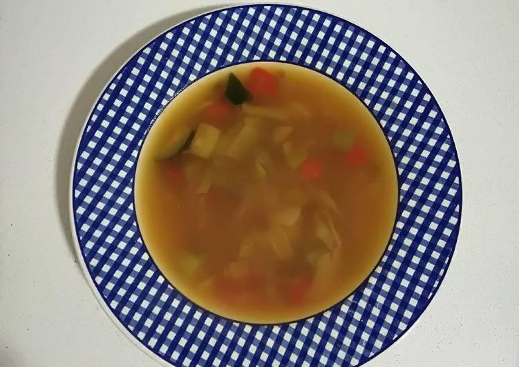 Sopa de verduras depurativa (Olla Gm g)
