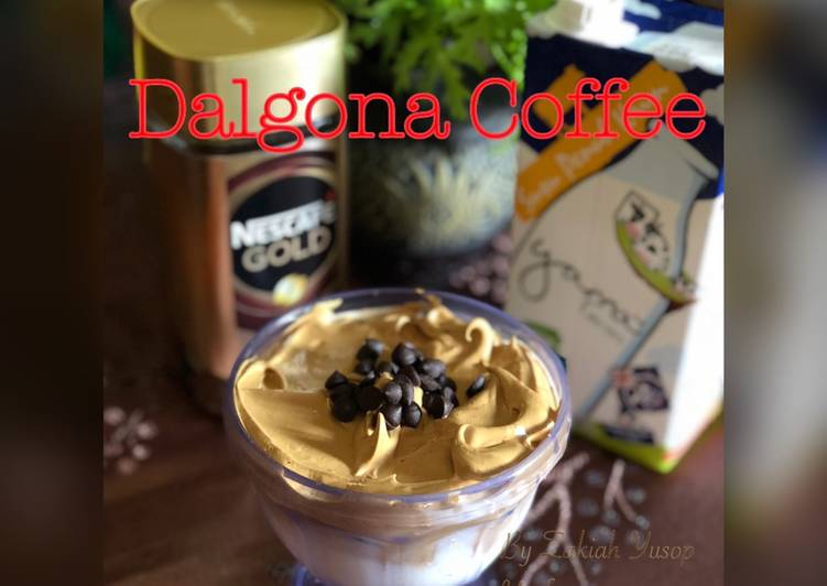 Dalgona Coffee - resepipouler.com