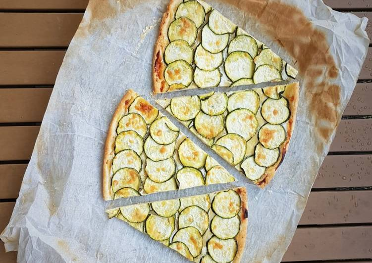 How to Make Delicious Tarte fine aux courgettes