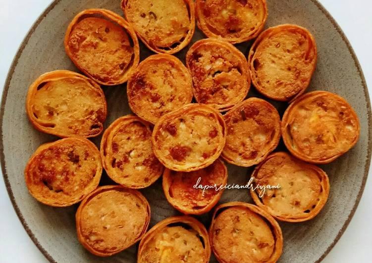 Resep Rolade Tahu Kornet oleh Cici Andriyani   dapurciciandriyani - Cookpad