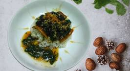 Hình ảnh món Lươn nướng nước tương  Phủ sốt lá lốt