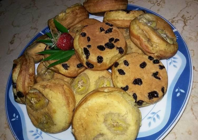 Kue Kamir pisang - cookandrecipe.com