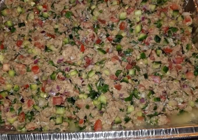 Tuna Ceviche Salad